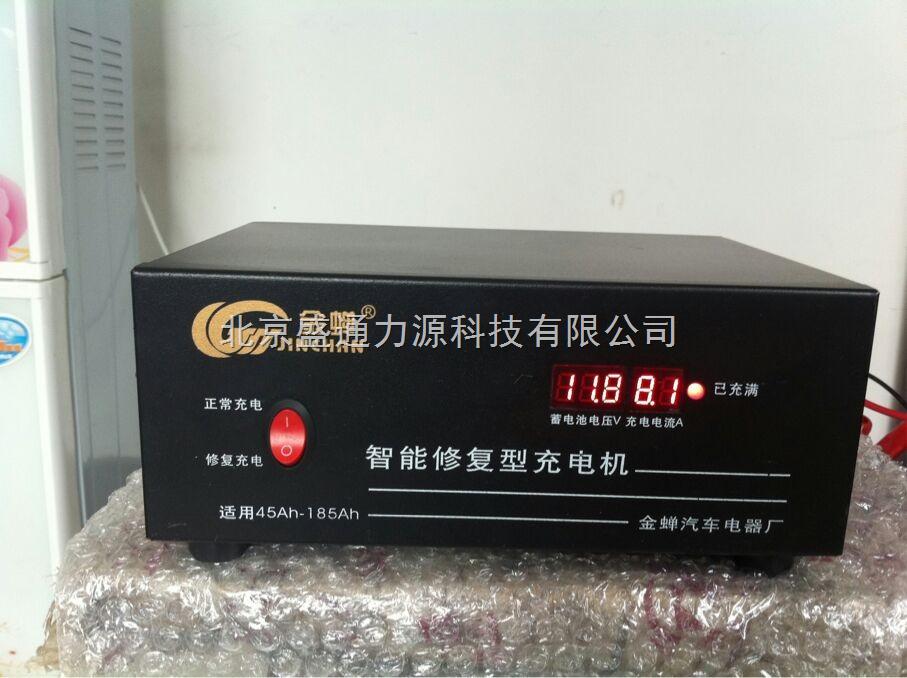 正品智能12v汽车电瓶充电器12v24v汽车蓄电池充电机金蝉0014型80a