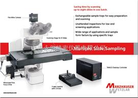 SCANMarzhauser电动显微镜平台