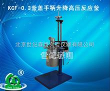 浙江批发KCF-0.3釜盖手柄升降高压反应釜