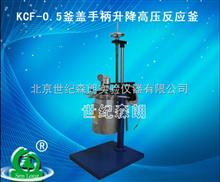 大连KCF-0.5釜盖手柄升降高压反应釜