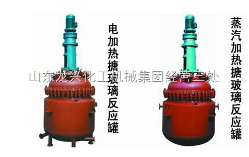 搪玻璃电加热反应釜 电加热搪玻璃反应釜