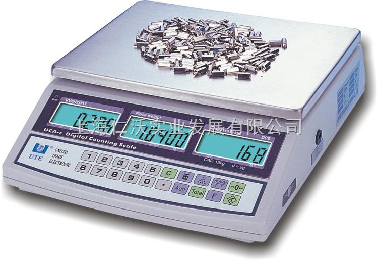 福建联贸UCAE-015电子称15kg/d=1g声光报警灯
