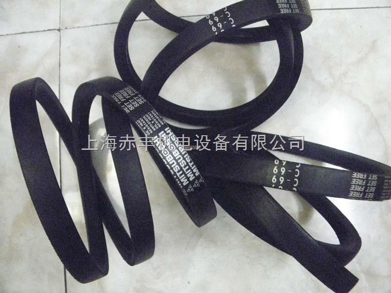 进口日本三角带C205,C206,C207,C208,C209,C210标准V型带代理