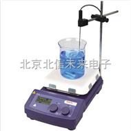 HG23-MS7-H550-Pro数控加热7寸方盘磁力搅拌器 低粘度液体磁力搅拌仪 耐高温磁力搅拌器