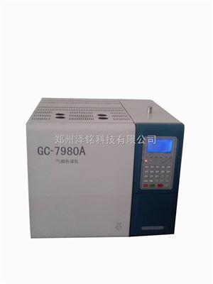 GC7980A系列汽油中某些醇类和醚类的气相色谱测定仪(色谱图)