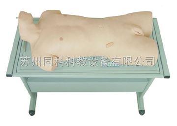 TK/813腹部移動性濁叩診與腹腔穿刺訓練模型