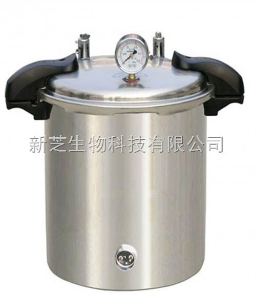 上海博迅手提式压力蒸汽灭菌器YXQ-SG46-280SA移位式快开门现货促销