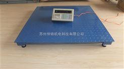 6噸電子平台秤價格,南京6T帶打印電子地磅/平台秤