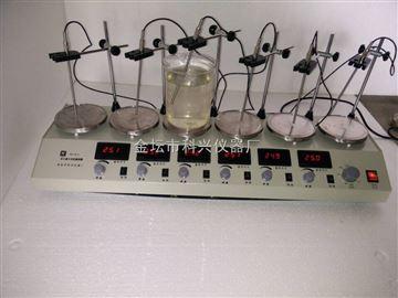 HJ-6D多头磁力加热搅拌器
