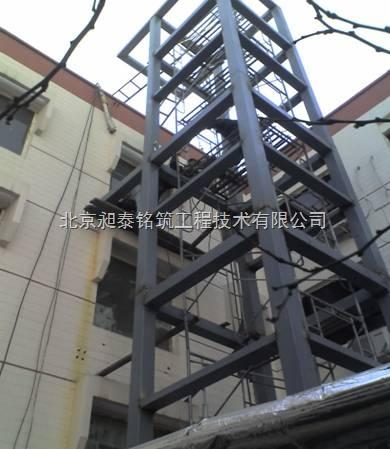 全国各地观光电梯钢结构井