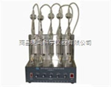 SYD-380B石油产品硫含量试验器,上海昌吉SYD-380B石油产品硫含量试验器(燃灯法)