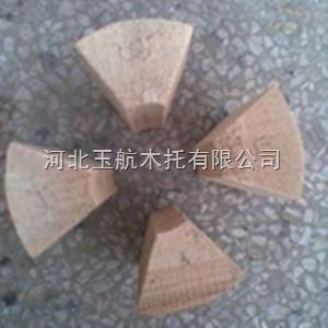 管道扇形木块