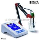 哈纳 HI4222 双通道台式酸度计