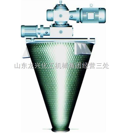 碳钢双螺旋混合机特点及应用
