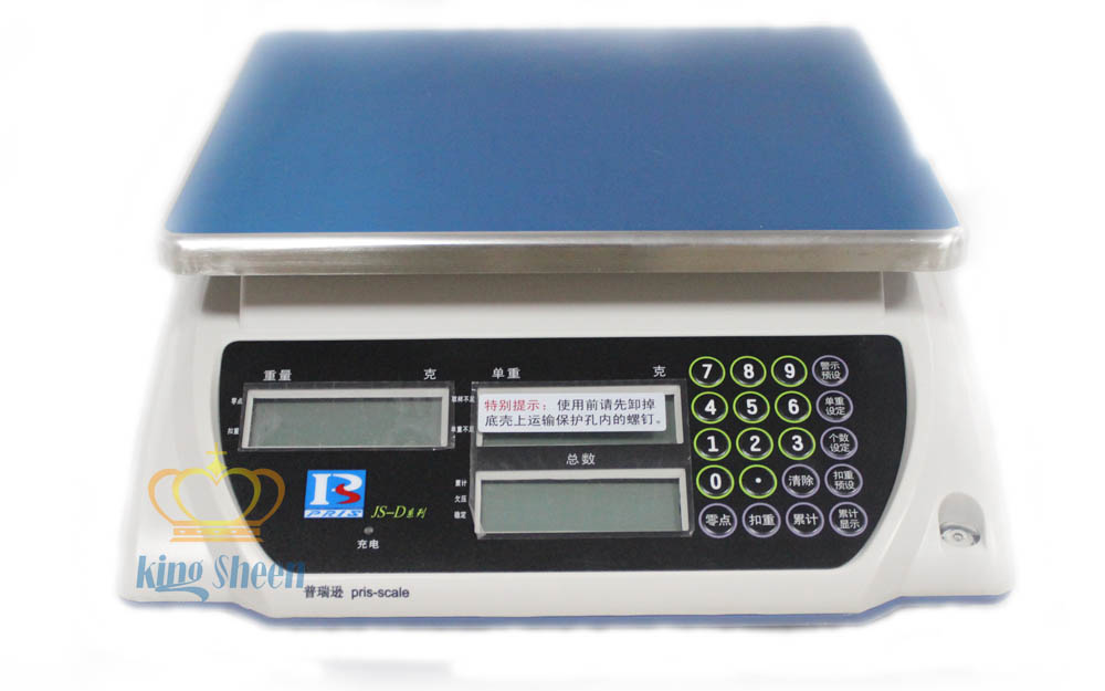 JS-S系列计数电子桌秤 上海电子桌秤 不锈钢电子秤