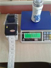 WFL-CW带打印3公斤电子桌秤,镇江/泰州带打印功能电子称