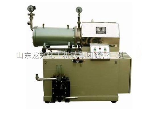 卧式砂磨机操作规程、纳米砂磨机
