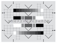 TE195愛莎測試卡esser test chart