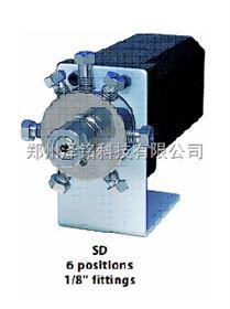 """UW型1/8""""接头0.75 mm 通径(.030"""")高压选择阀"""