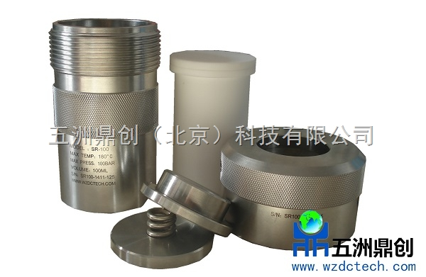 SR100SR25SR50水热反应釜消解罐,聚四氟乙烯高压罐