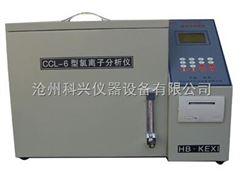 CCL-6型CCL-6型水泥氯离子分析仪(带打印)