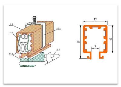 DHG 系列组合式安全滑触线