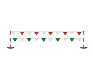 WL电力安全围栏网围旗 警戒警示安全围旗