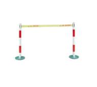 WL伸缩式单带安全防护栏 不锈钢警示带伸缩围栏