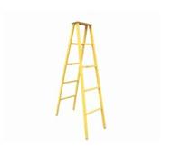 ST高壓線路電工全絕緣單梯,6米升降單梯合梯