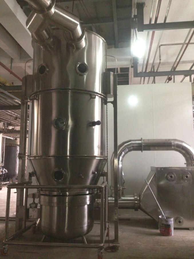 GFG120立式沸腾干燥机主机