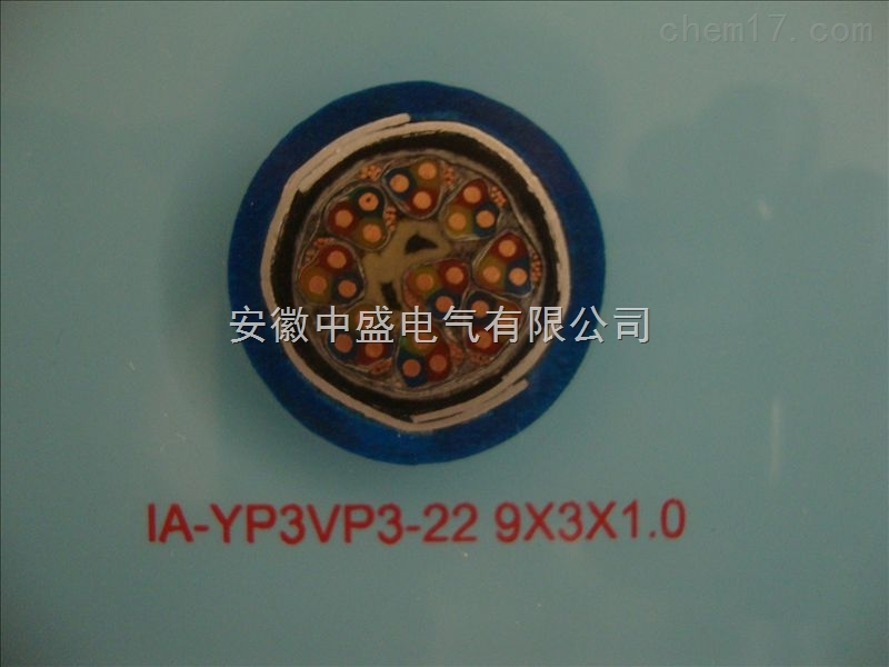 本安计算机电缆IA-YP3VP3-22 9*3*1.0