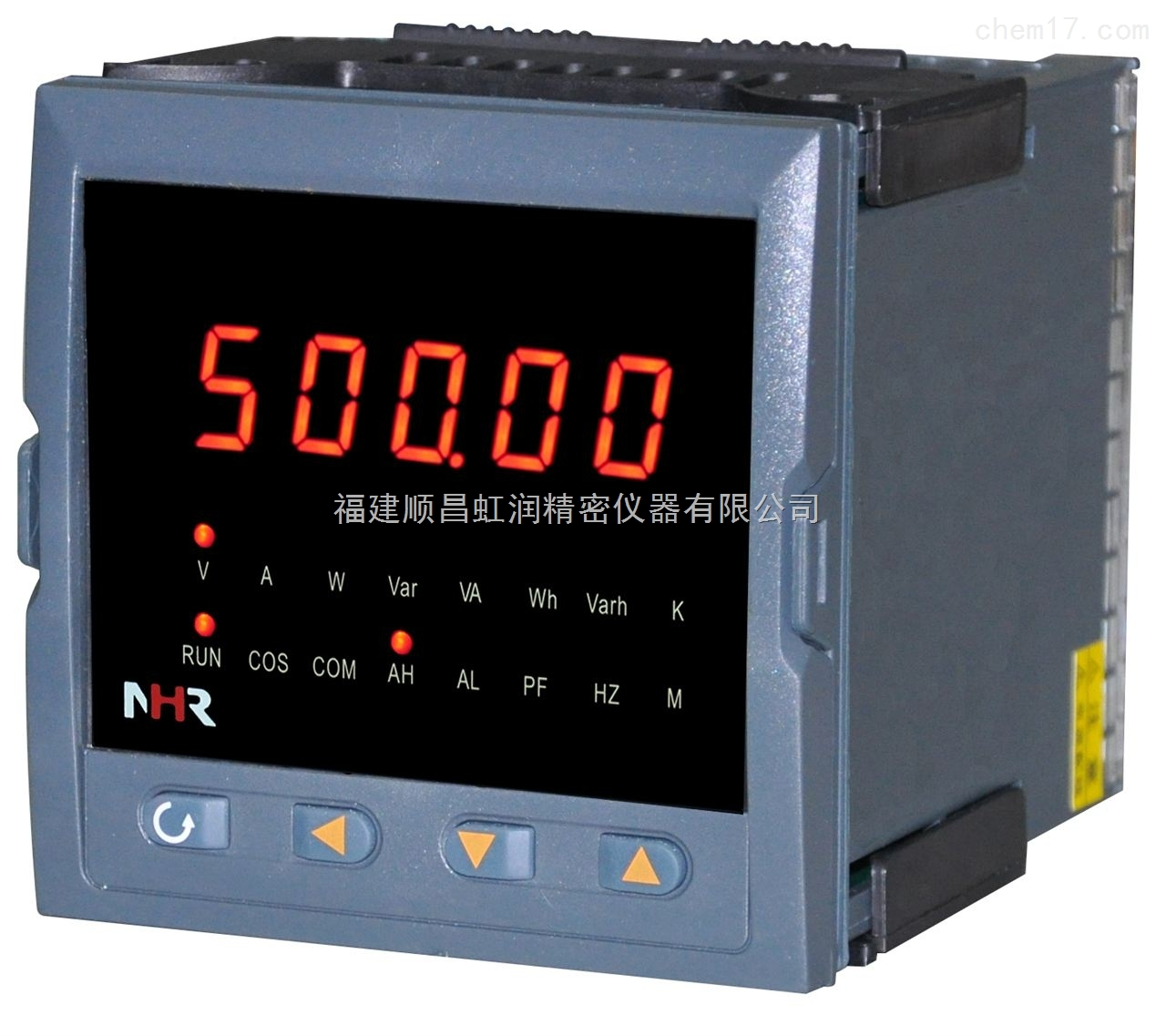 虹润NHR-3100系列-单相电量表