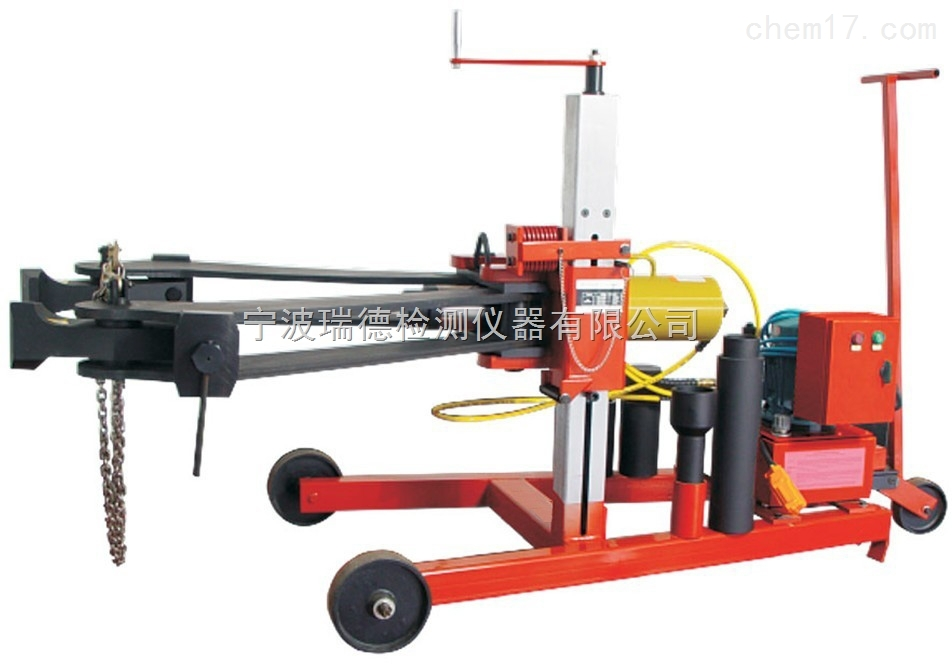 RD-CZD100RD-CZD100车载电动二爪液压拉马 全自动电动升降 小车移动 100吨车载拉马