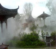 广西步行街酒店喷雾降温工程