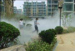 供应生态酒店冷雾降温系统
