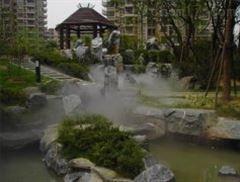 景观雾喷广场系统