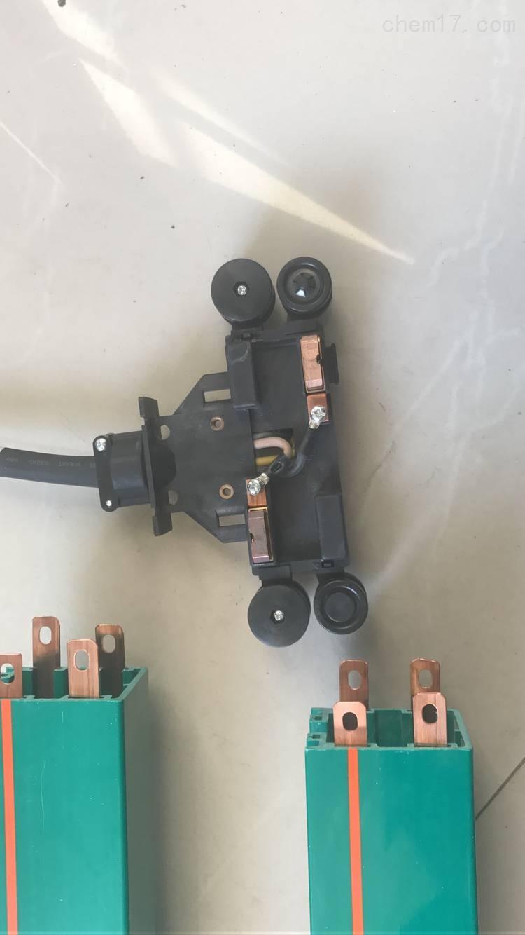 安全滑触线4极集电器25A使用方法