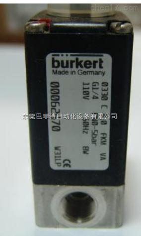 巴菲特特价销售BURKERT两位两通气动阀