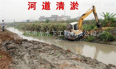 淮北市河道清淤施工单位城信公司