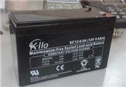 西安KILO蓄电池SC12-120免维护电池12V120AH经销商原装销售
