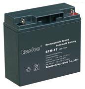 雷斯顿蓄电池6FM-33高性能Resden蓄电池12V33AH代理商