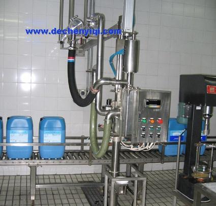 200升植物油自动计量灌装器(300公斤油桶