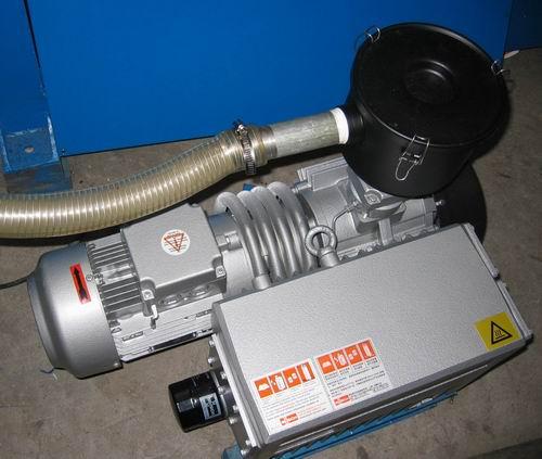 瓦斯真空泵轴磨损在线修复经验方法