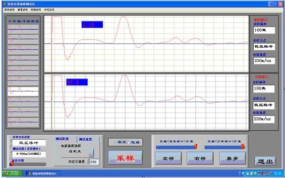 用多次脉冲法测试电缆的高阻故障(包括高阻泄漏和高阻闪络性故障)
