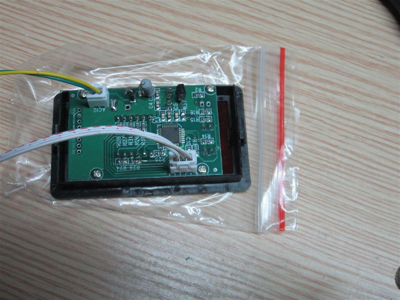 超声波测速仪单片机电路板 图