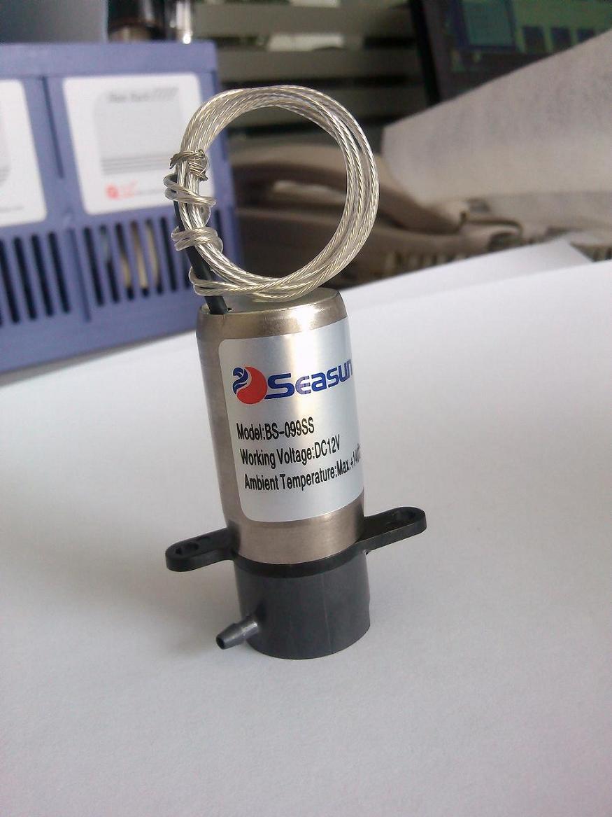 定制 微型电磁阀-精密电磁阀-微型精密防腐电磁阀定制图片