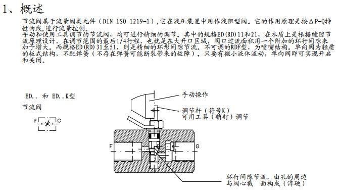 哈威节流阀德国hawe哈威节流阀(throttle valve)的外形结构与截止