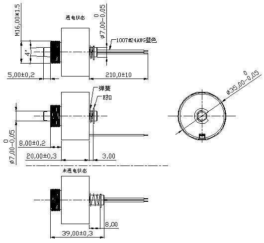 BOSHUN起重机电磁铁 起重机电磁铁又称吸盘式电磁铁,是新型的实用型磁性起重设备,实用性非常强;在对物料的起吊搬运时不需要对零散的物料进行捆扎等其他处理,故又称为散料起重电磁铁,非常适用于起吊搬运零散的废钢铁、废料等。 吸盘式电磁铁是根据电磁转换的原理,在通电状态下产生强大的电磁吸力,以控制物件的前进或停止状态。该电磁铁结构合理紧凑,线圈置于软磁材料外壳之中并以环氧浇封,具有体积小,安装方便,吸力大,牢固可靠,全密封,环境适应性强等特点,该系列电磁铁可进行远程操作,动作简单灵敏,功能稳定可靠。 吸盘式电