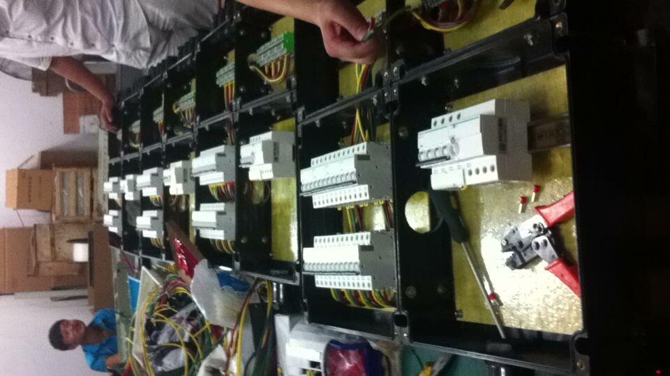配电箱的内部接线图