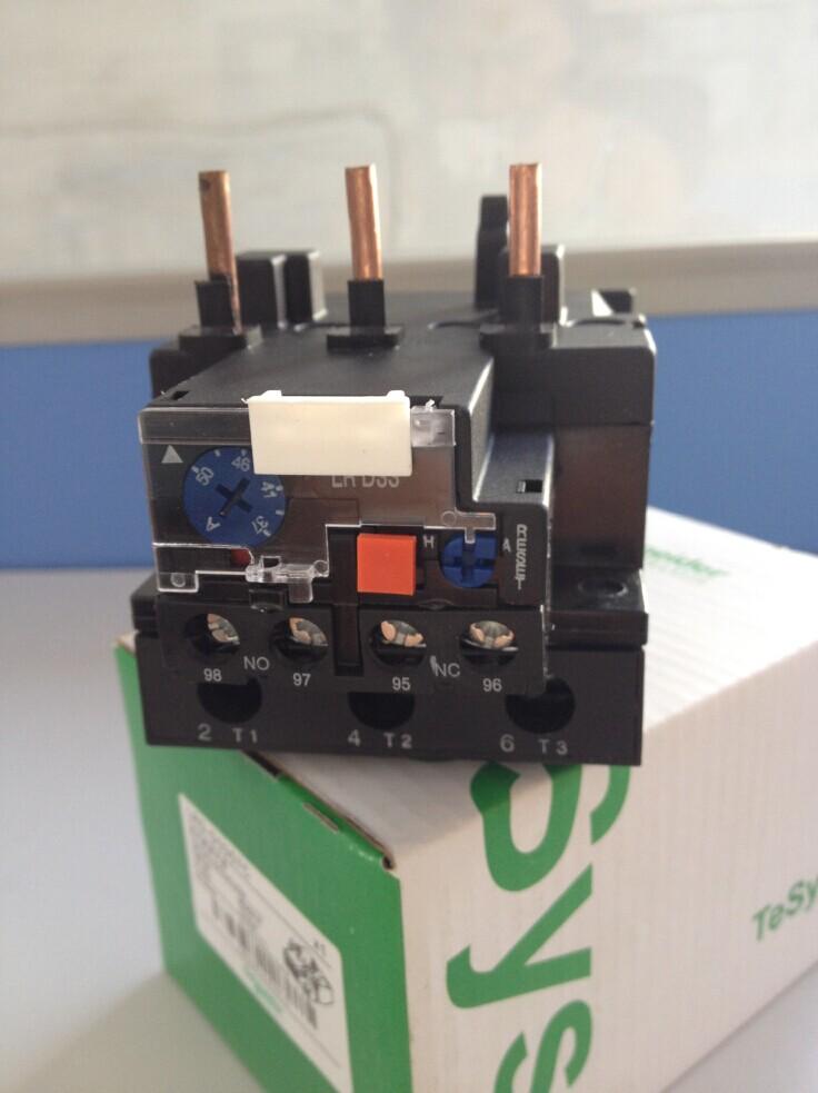 全新施耐德热/热过载继电器lrd3359c